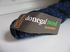 Tahki Donegal Tweed Homespun 100g color blue number 815 Multiples available