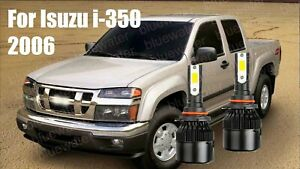 LED For Isuzu i-350 2006 Headlight Kit 9006 HB4 6000K White CREE Bulbs Low Beam