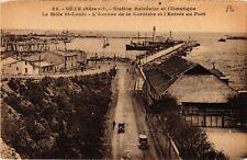 CPA  Séte (Hérault) - Station Balnéaire et Climatique -Le Mole St-Louis (511152)