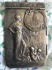 Art Nouveau French Aide Memoire Carnet de Bal By E. Dropsy Powerful Image