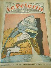 Le Polissage du verre à l'aide de sable fin souflé par le Pistolet Print 1928