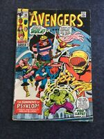 The Avengers #88 May 1971 GD- 1.8