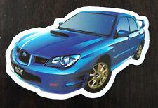 ROCKER 8 2008-2017 Subaru WRX STI Hatchback Vinyl Rally Racing Stripes Style