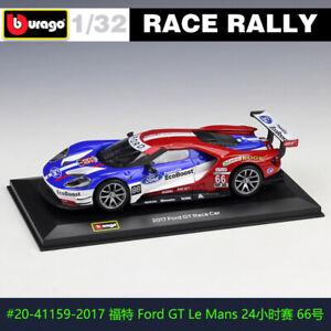 BBURAGO 1:32 2017 Ford GT #66 DS WRC rally car alloy model