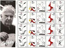 1998 - ALEXANDER CALDER - #3198-3202 FULL Mint -MNH- Sheet of 20 Postage Stamps