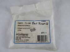 "NEW POWERS STEAM SERVICE KIT FOR FLOWRITE VALVE 1 1/4"" STEM SIZE PART # 591 927"