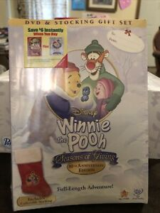 Winnie the Pooh - Seasons of Giving (DVD, 2009, 2-Disc Set, With Stocking) NEW