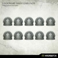 Kromlech Legionary Shoulder Pads Inquisition Pattern Brand New KRCB231