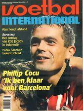 V.I. 1998 nr. 08 - PHILLIP COCU (PSV)/PABLO SANCHEZ/SAMARDZIC/ERIC VAN DER LUER