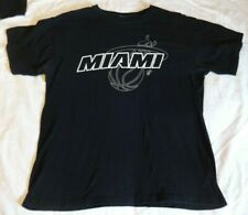 Miami Heat Shirt Black NO TAG Wade fixed