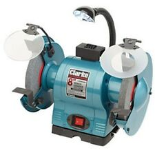 Heavy Duty 8inch bench grinder with light CBG8370L