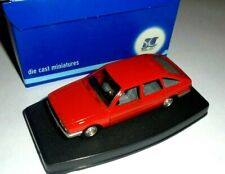 car 1/43 SCALE CARR 80151 CHRYSLER 150 GTS 1977 RED NEW BOX