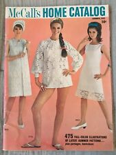 McCall's Home Catalog 1965 Summer VG/E Sewing Fashion Dresses Women's A++ Color