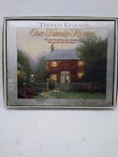 """Our Family History"" Keepsake Book Thomas Kinkade Painter of Light in Gift Box"