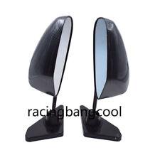 F1 Car Carbon Fiber Autos Blue Rear View Mirror Carbon Look racing Side Mirror