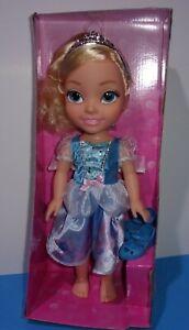 "New Disney Princess Doll My First Cinderella Large Size 14"" Jakks Toddler Doll"