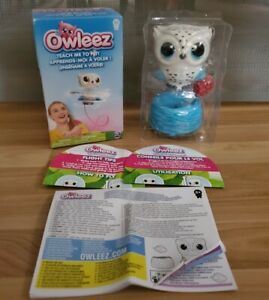 OWLEEZ, FLYING BABY OWL DRONE INTERACTIVE TOY W/ LIGHTS & SOUNDS (WHITE)