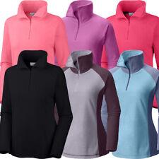 New Womens Columbia Arctic Air Plus Size 1/2 Zip Fleece Sweaters Sweatshirt Top
