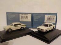 Ford Cortina Mk1 + Mk2, Ermine White, Model Cars, Oxford Diecast 1/76