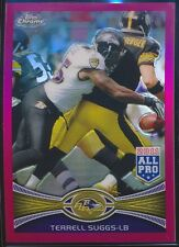 2012 Topps Chrome Pink Refractor #178 Terrell Suggs /399