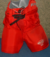 NEW PAIR OF FURY 2007 ICE HOCKEY PANTS REDWINGS RED SIZE 46