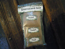 Graveyard Dirt Spell Supplies Spells Magic Witchcraft Ritual Protection Travel