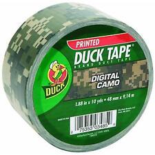 Digital Camo Duck Tape ShurTech 1378542 repairs crafts color coding 3PK