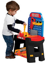 Portable Kids Playskape Deluxe Tool Bench Tools Play Toy DIY Creative Role Play