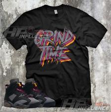 "Sneaker Tees Air Jordan 6 Bordeaux Match ""GRIND TIME"" Light Graphite Shirts"