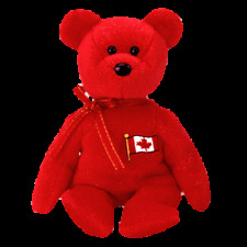 """TY BEANIE BABIES   """"PIERRE"""" THE BEAR CANADA EXCLUSIVE MINT WITH MINT TAG"""