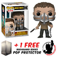 FUNKO POP MAD MAX FURY ROAD BLOOD BAG MAX CAGE MASK EXCLUSIVE + FREE PROTECTOR