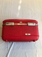 Vintage 1960s American Tourister Tiara Train Case Red