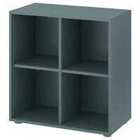 IKEA Regal 4 Fächer,Bücherregal Wandregal Regale Sideboard Schrank 70x35x72 cm