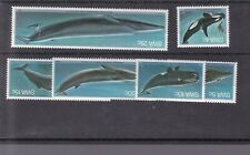 SOUTH WEST AFRICA 1980 WHALES MNH SET SG 338 - 343