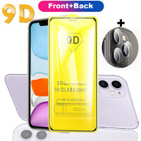 9H Front+Back+Lens Tempered Glass Film Screen Protector for iPhone 11 Pro Max XS