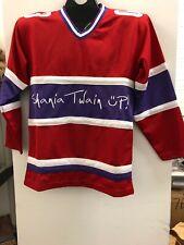 Shania Twain Up Hockey Jersey