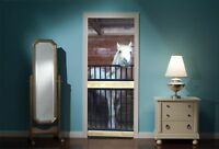 Door Mural Horse Horses Stable View Wall Stickers Decal Wallpaper 41