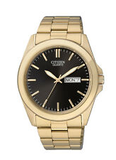 New Citizen Men's Dress Gold Tone Stainless Steel Watch BF0582-51F
