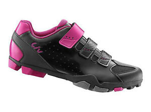 Liv Fera Women's Cycling Shoes, Black / Pink