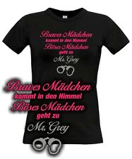 FUN T-Shirt * Böses Mädchen * for 50 Fifty shades of mr Grey Fans PARODY SATIRE