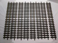 "G Scale - LGB - Lot of (8) Pieces of 1060 600mm 24"" Brass Straight Track"