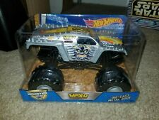 Monster Jam Max- D Monster Truck  Die-Cast Vehicle 1/24 Scale HW