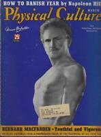 Physical Culture Magazine March 1938 Bernarr MacFadden Fit For War Hollywood