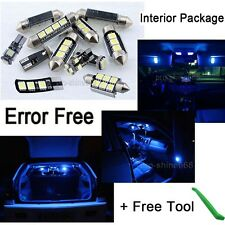 Canbus Fit Benz C class W204 08 Interior Package Kit Tool LED Light Xenon Blue
