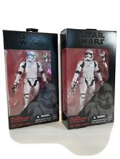 Hasbro Star Wars Black Series 6-Inch First Order Stormtroopers (two)