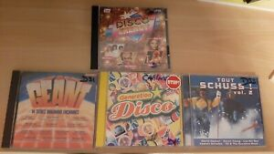 Lot de 4 CD DISCO