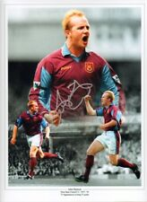Signed John Hartson West Ham United Photo Montage + Proof Wales Celtic Arsenal