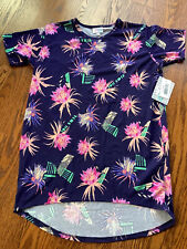 NEW WITH TAGS GIRLS LULAROE KIDS SIZE 14 GRACIE TOP SHIRT