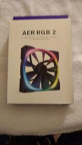 NZXT AER RGB 2 - 140mm - RGB LED - Fluid Dynamic Bearing - PWM Fan for Hue 2 - S