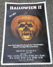 "1981 HALLOWEEN II 40x60"" Movie Poster FN 6.0 Jamie Lee Curtis, Donald Pleasence"